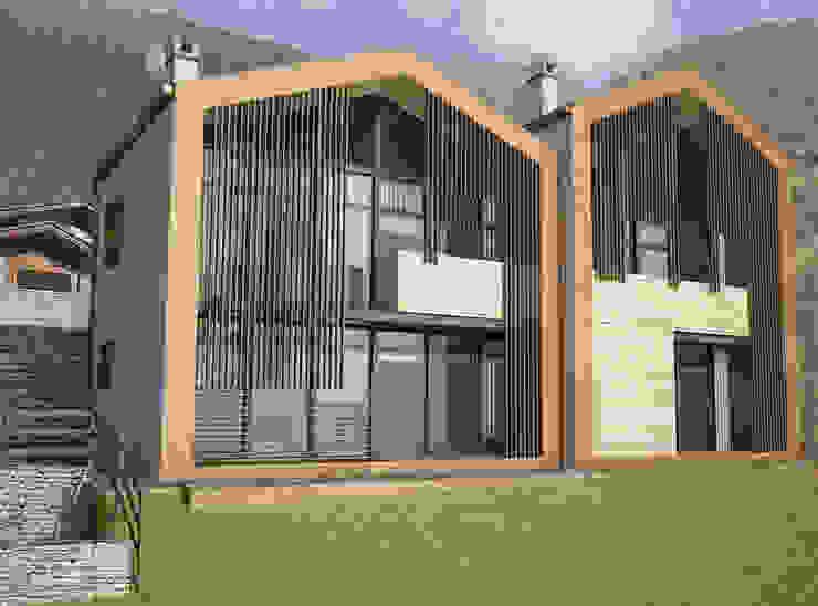 Fotoinserimento esterno 1 Casa rurale di 2A2F Architettura Rurale