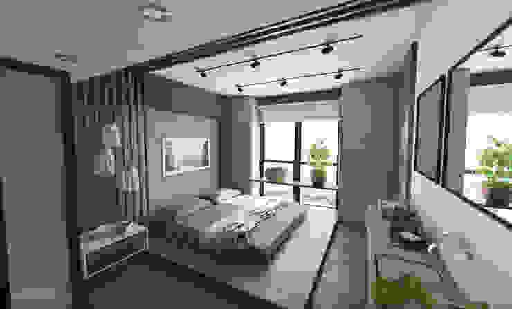 Prototype studio Modern style bedroom