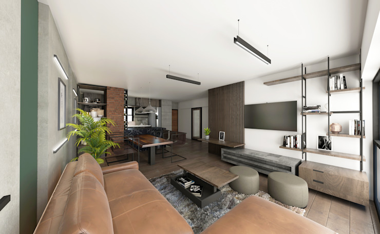 Prototype studio Modern living room