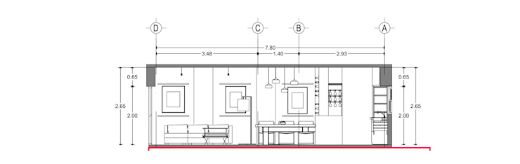 Prototype studio Modern dining room