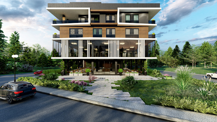 ANTE MİMARLIK Multi-Family house