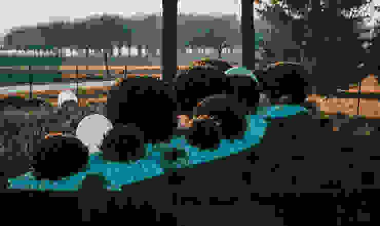 Giardino Affini Giardino moderno di LUCIA PANZETTA - PAESAGGISTA Moderno