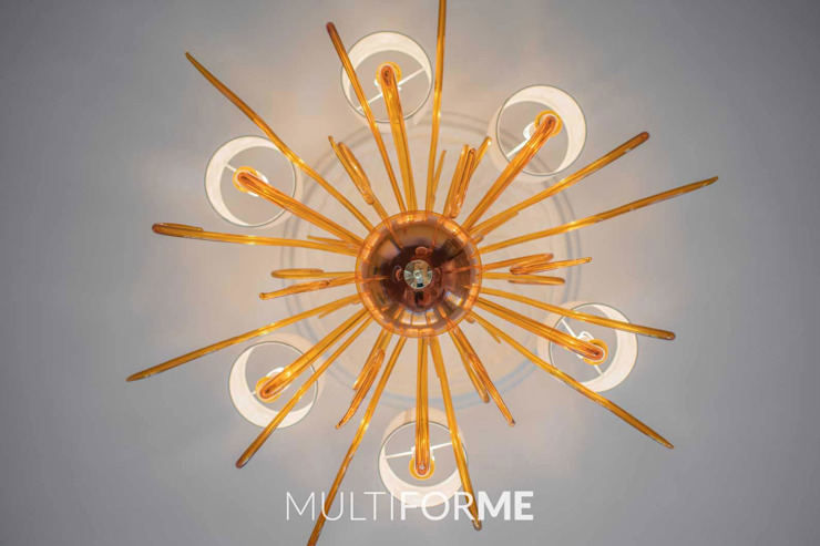 Classic style dining room by MULTIFORME® lighting Classic