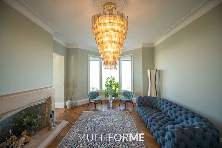 Classic style living room by MULTIFORME® lighting Classic
