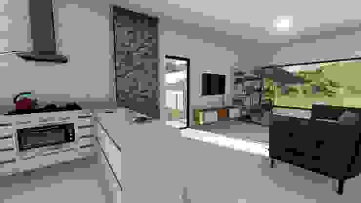 Igor Cunha Arquitetura ห้องครัว