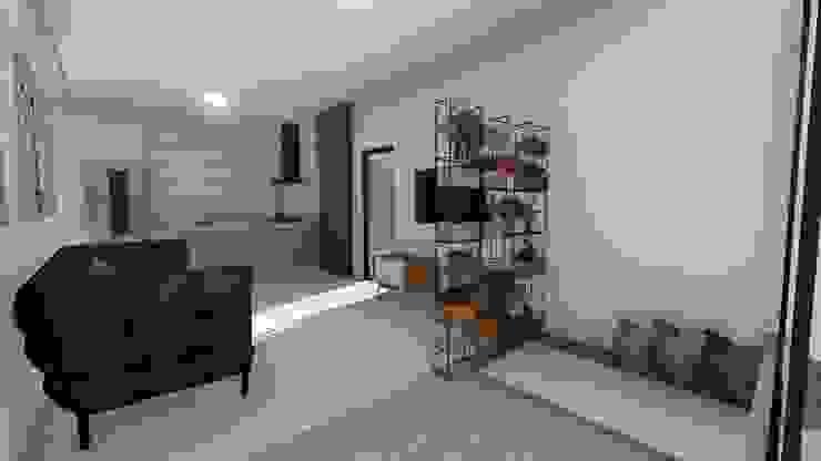 Igor Cunha Arquitetura ห้องนั่งเล่น
