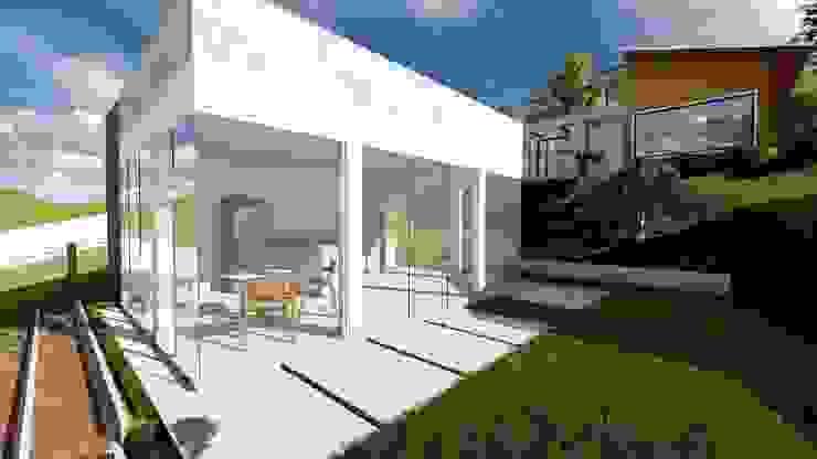 Igor Cunha Arquitetura ระเบียง