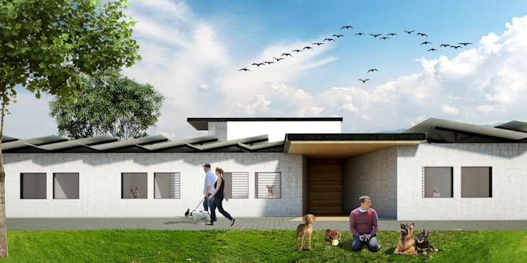 Hotel para mascotas Saavedra Arquitectos