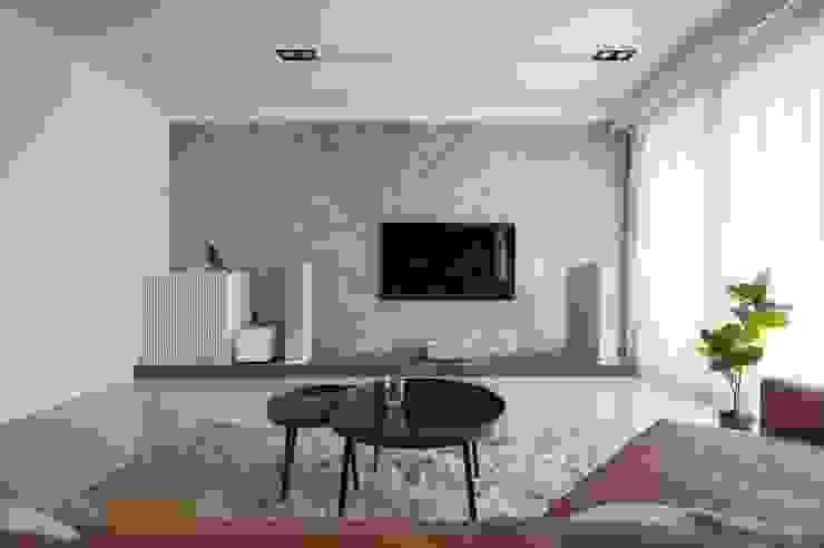 家庭劇院 现代客厅設計點子、靈感 & 圖片 根據 極簡室內設計 Simple Design Studio 現代風