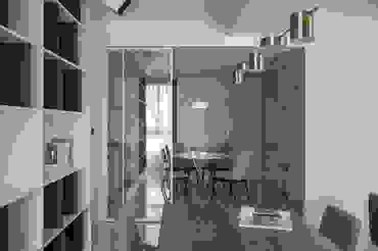 鋁框拉門 根據 極簡室內設計 Simple Design Studio 現代風