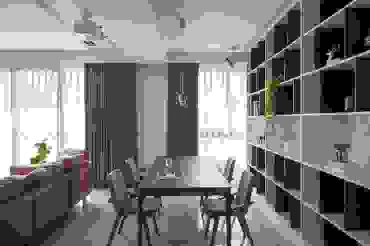 書房 根據 極簡室內設計 Simple Design Studio 現代風