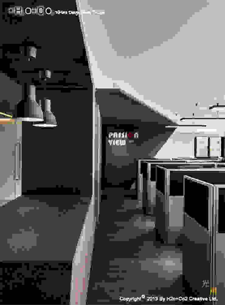 辦公區 根據 光合作用設計有限公司 現代風 花崗岩