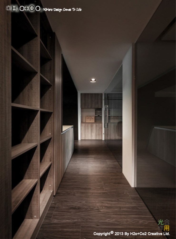 Passion View 現代風玄關、走廊與階梯 根據 光合作用設計有限公司 現代風