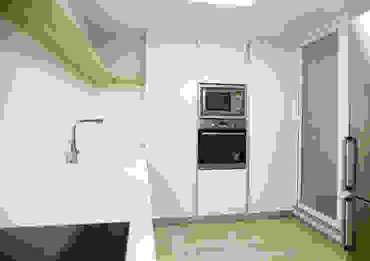 Vista interior cocina - Modulo de remate del fondo OCTANS AECO Cocinas integrales