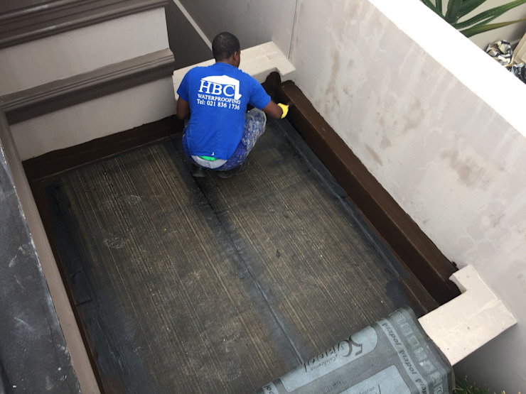 Rubberized bitumen waterproof flashings. by Hbc waterproofing (Pty)Ltd.