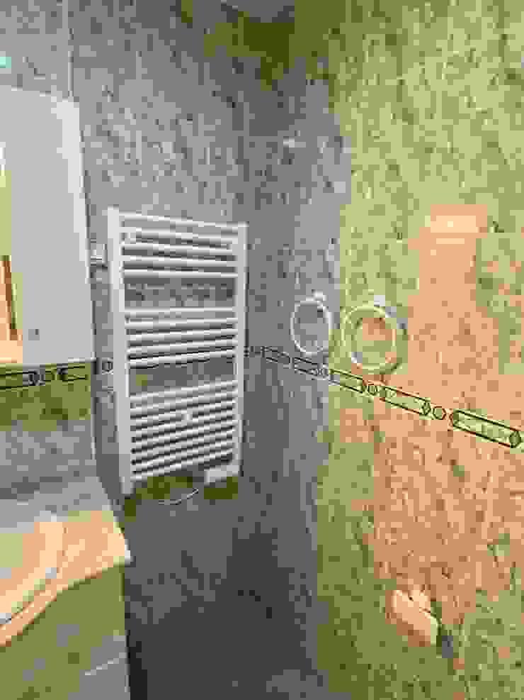 Deco Bosch Baños de estilo clásico Cerámico Blanco