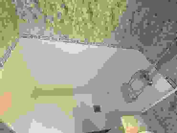 Sustitución de bañera por plato de ducha Deco Bosch Baños de estilo clásico Cerámico Blanco