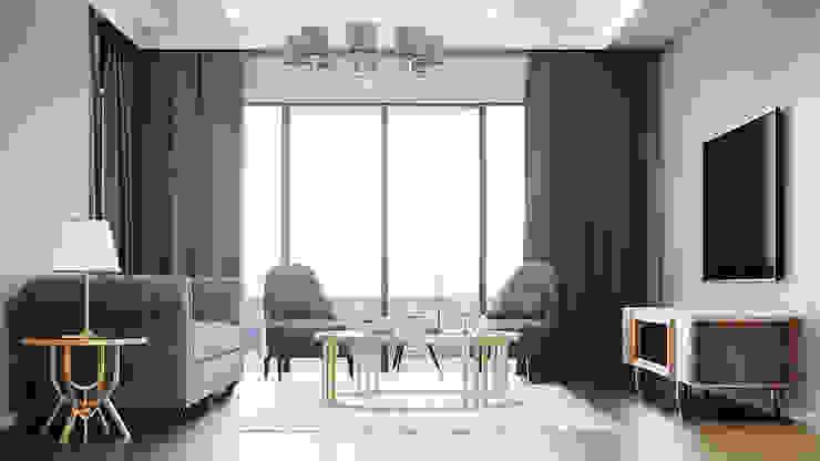 DOWNTOWN BURSA Modern Oturma Odası TAG DESIGN LAB Modern