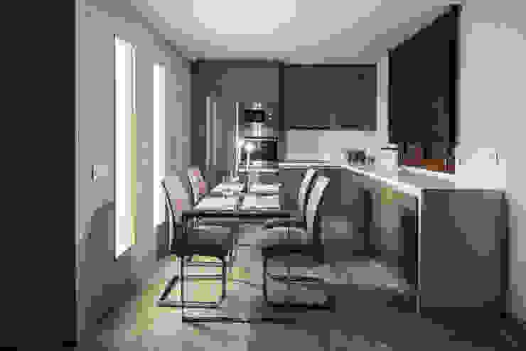 Decoración de Cocina Moderna de Antonio Calzado 'NEUTTRO' Diseño Interior Moderno Azulejos
