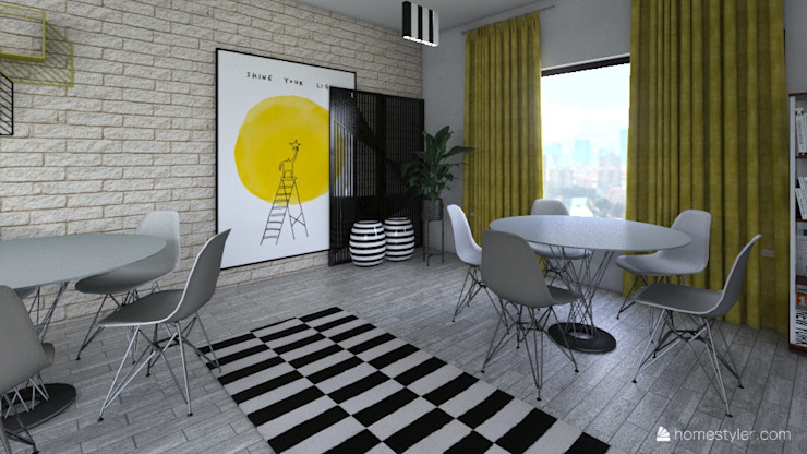 Office by Famewalk Interiors Tropical