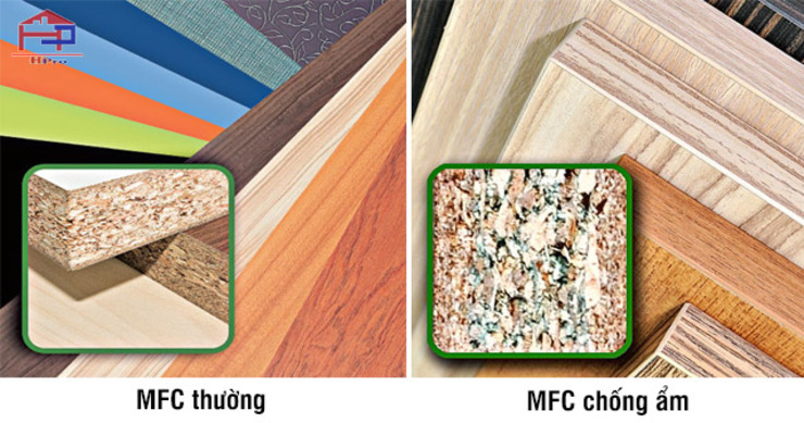 Code gỗ công nghiệp MFC Nội thất Hpro KitchenCabinets & shelves Ván ép Multicolored