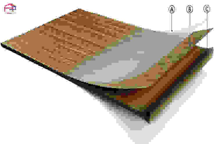 Bề mặt phủ melamine Nội thất Hpro KitchenCabinets & shelves Nhựa tổng hợp Multicolored