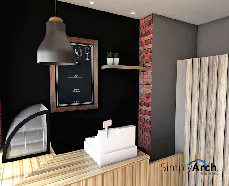 Counter Design:industri  oleh Simply Arch., Industrial