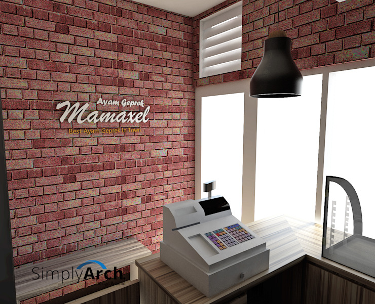Waiting Area:industri  oleh Simply Arch., Industrial