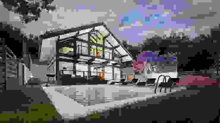 Компания архитекторов Латышевых 'Мечты сбываются' Country house