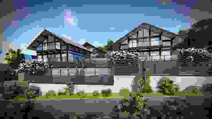 Компания архитекторов Латышевых 'Мечты сбываются' Minimalist house