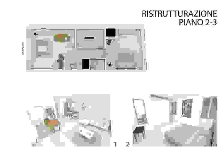 Ristrutturazione del appartamento ai piani 2-3 di studiolineacurvarchitetti
