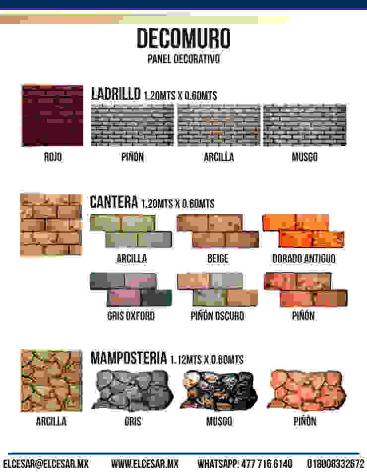 EL CÉSAR DISEÑO EN ACABADOS Y DECORACIÓN Walls & flooringWall tattoos Stone