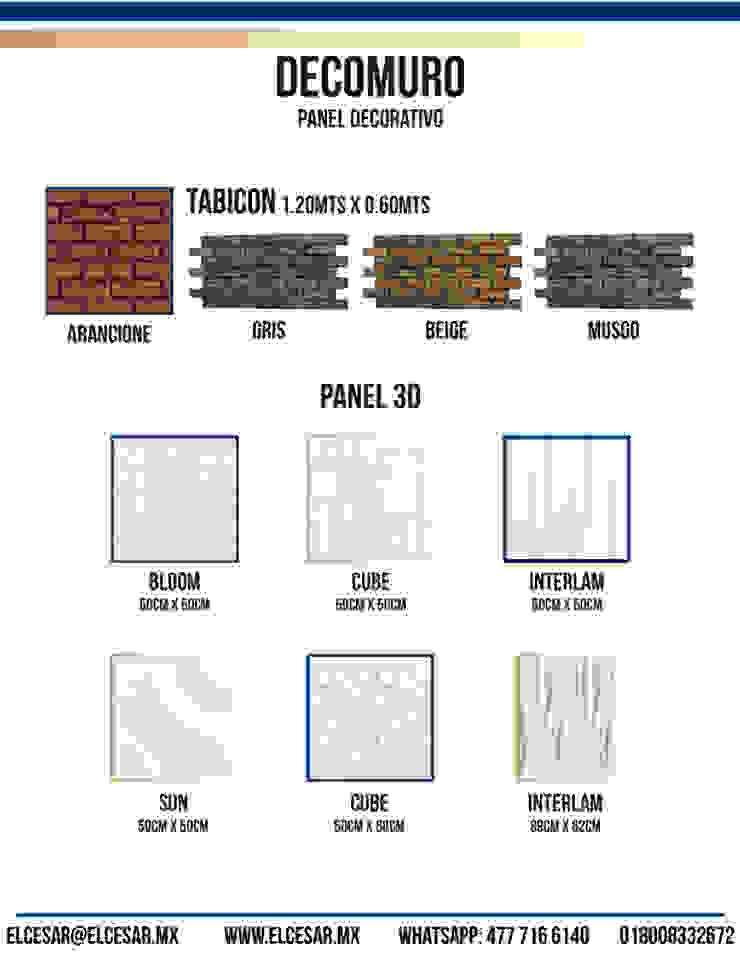 EL CÉSAR DISEÑO EN ACABADOS Y DECORACIÓN Walls & flooringWall & floor coverings Stone