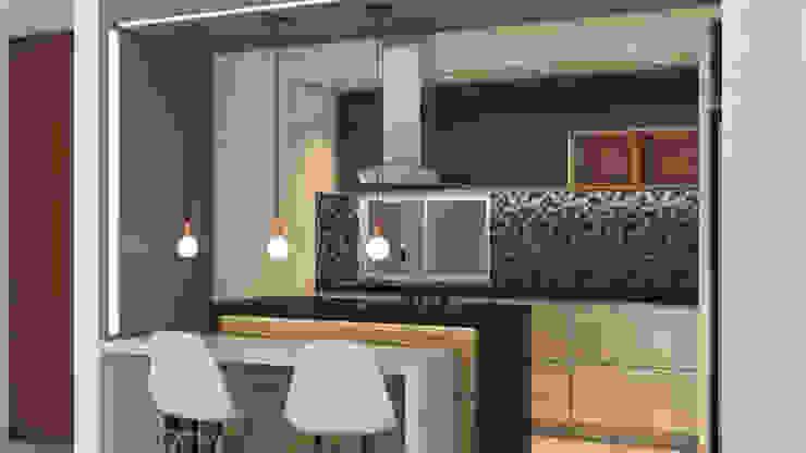 Diseño de Cocinas de Raum360 S.A.S Minimalista