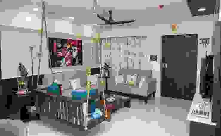 Soggiorno in stile asiatico di ARK Architects & Interior Designers Asiatico