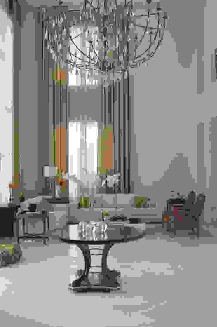 Bianka Mugnatto Design de Interiores Salones de estilo clásico Mármol Beige