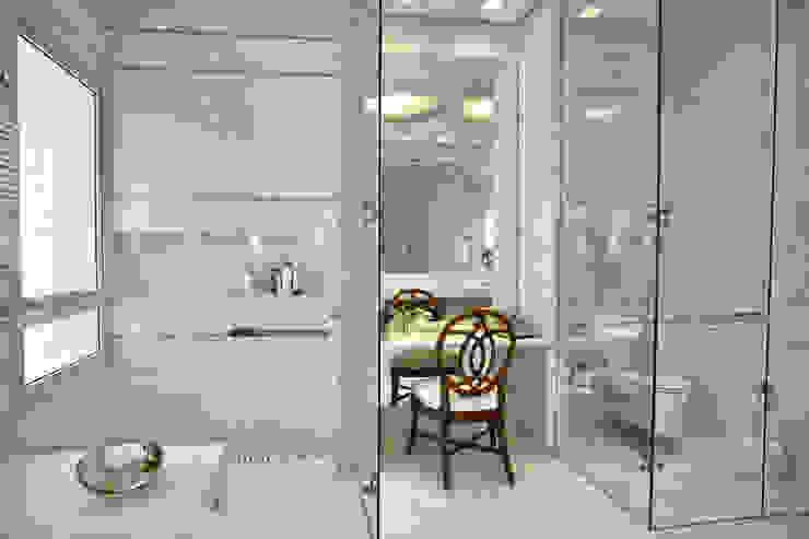 Bianka Mugnatto Design de Interiores Baños de estilo clásico Mármol Blanco