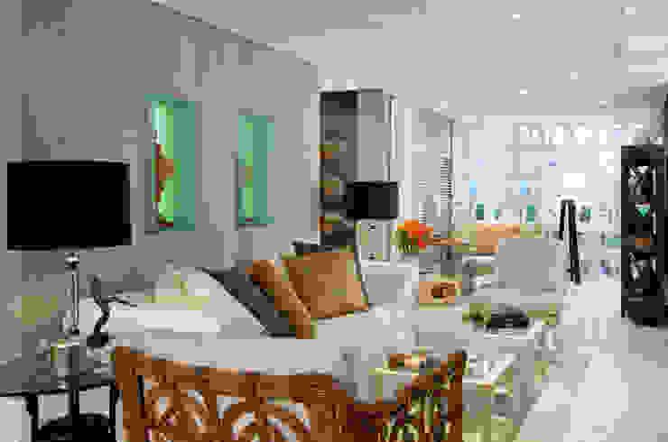 Bianka Mugnatto Design de Interiores Balcón Bambú Blanco