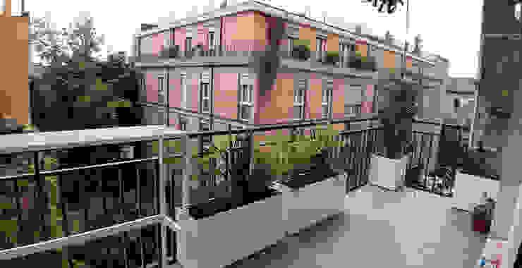 Mattia Boldrin Garden Design Hiên, sân thượng phong cách hiện đại