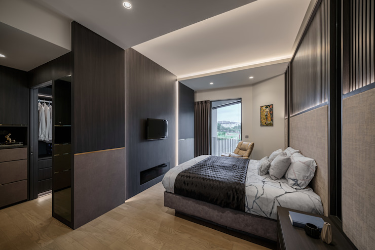 Nim Collection 1 Modern style bedroom by Summerhaus D'zign Modern