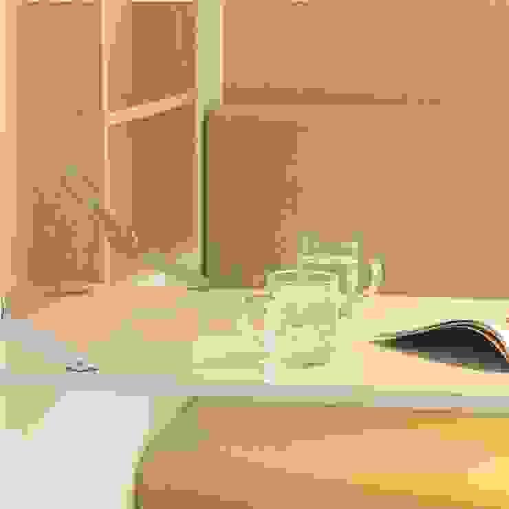 1+1 Apartment Ruang Studi/Kantor Gaya Skandinavia Oleh Arkitekt Studio Skandinavia
