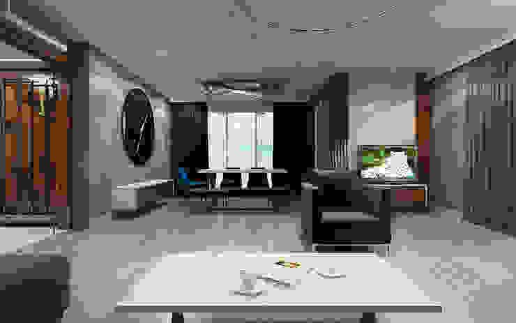 NUUN MİMARLIK Modern Living Room