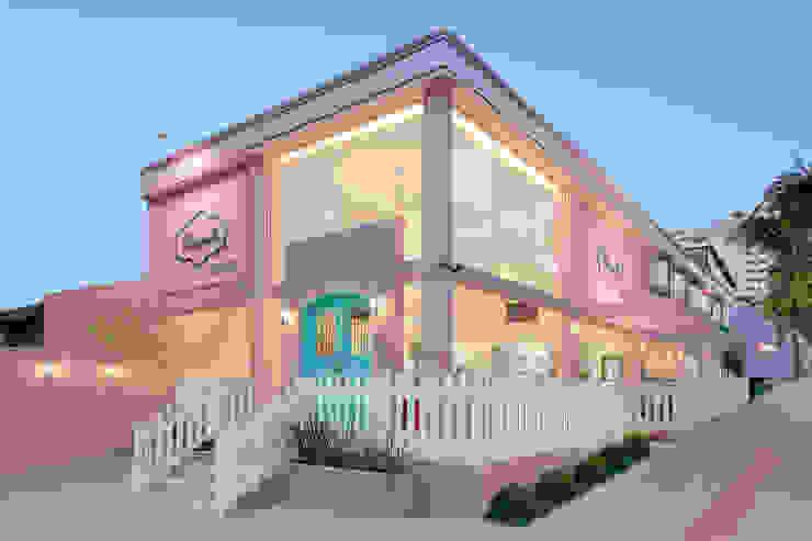 D arquitetura Restaurantes Rosa