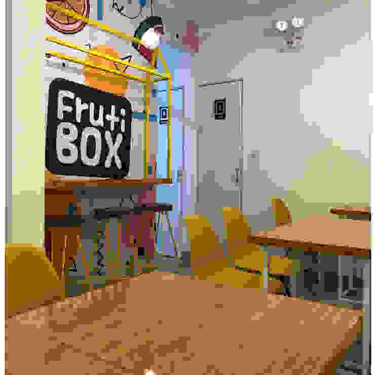 PROYECTO JUGUERIA FRUTI BOX - IMPLEMENTACION de NF Diseño de Interiores Escandinavo