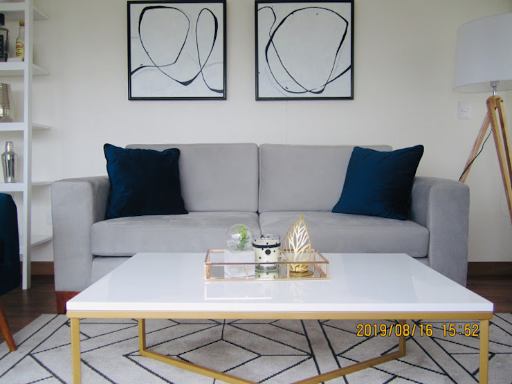 Sofa Line de NF Diseño de Interiores Moderno