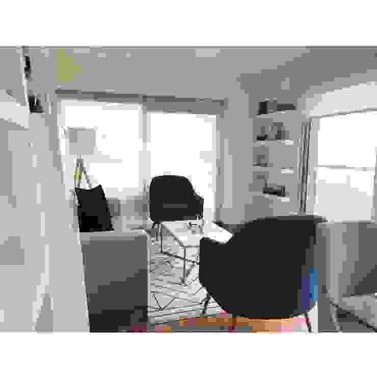 Sala Comedor Salas modernas de NF Diseño de Interiores Moderno