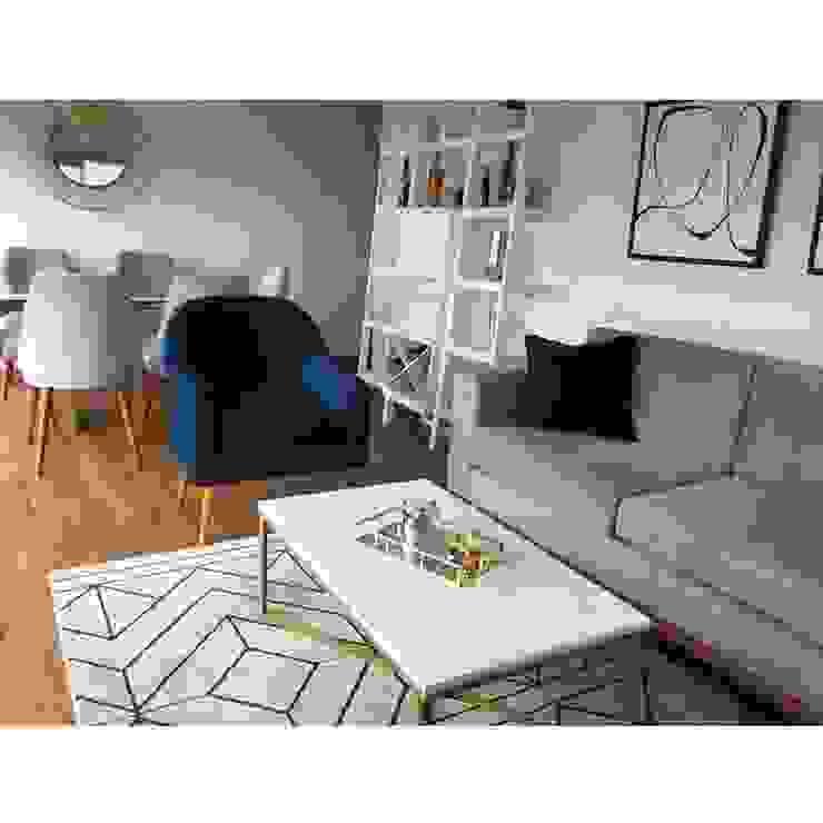 Sala Comedor Entregado Salas modernas de NF Diseño de Interiores Moderno