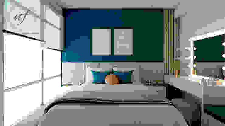 Dormitorio Principal NF Diseño de Interiores Dormitorios de estilo moderno