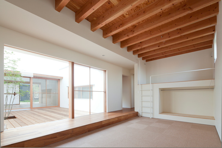 bởi 松原建築計画 一級建築士事務所 / Matsubara Architect Design Office Bắc Âu Than củi Multicolored