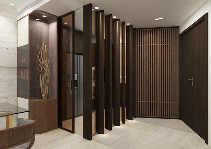 Foyer Modern dining room by KMok Consulting Limited Modern